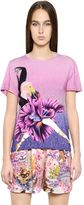 Mary Katrantzou Printed Stretch Cotton T-Shirt