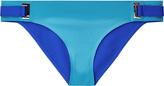 RYDER Two-tone Lycra® mid-rise bikini briefs