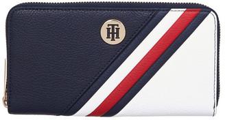 Tommy Hilfiger The Core Signature Zip-Around Wallet