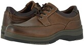 Johnston & Murphy Cahill Moc Lace-Up (Brown Oiled Waterproof Tumbled Full Grain) Men's Shoes
