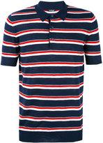Kiton striped polo shirt - men - Silk/Linen/Flax - L