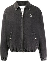 Ami Paris de Coeur patch bomber jacket