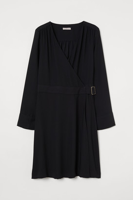 H&M Belted wrap dress
