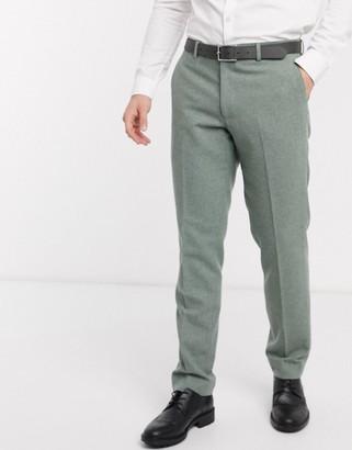Harry Brown slim fit wedding summer tweed suit pants
