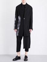 Isabel Benenato Hand-painted linen jacket