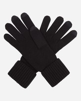 N.Peal Ribbed Cashmere Gloves - Touch Screen