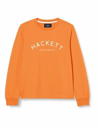 Hackett London Hackett Boy's Logo Crew B Sweatshirt