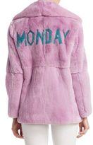 Alberta Ferretti Fur Monday Jacket