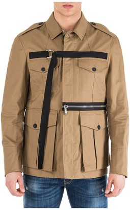 DSQUARED2 D-Ring Strap Buttoned Jacket