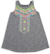 Planet Gold Girls 7-16 Tribal Knit Tank