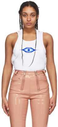 GmbH White Arda Tank Top