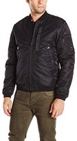 Spiewak Men's Waxed MA-1 Bomber Flight Jacket