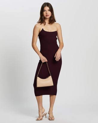 Missguided Women's Purple Midi Dresses - Perspex Midaxi Dress - Size 10/12 at The Iconic