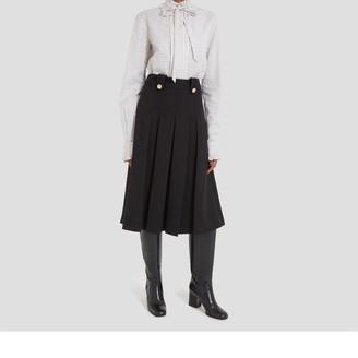 Mulberry Gia Skirt Black Cavalry Twill