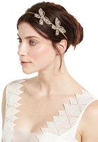 Jennifer Behr Headpieces Mariposa Crystal Circlet Headband