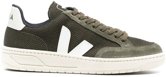 Veja Mesh Panel Lace-Up Sneakers
