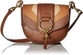 Frye Ilana Color Block Small Saddle Crossbody Bag