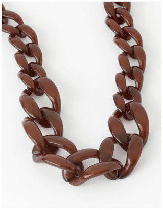 Basque Oversize Tort Link Chain - Short