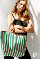 Urban Outfitters Canvas And Leather Tote Bag