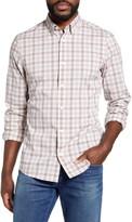 Nordstrom Tech-Smart Trim Fit Check Button-Up Shirt