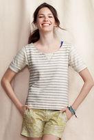 Women's Button-Back Terry Sweatshirt
