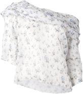 Rosie Assoulin floral off-shoulder blouse