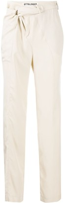 Ottolinger Knotted Tailored Trousers