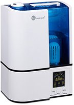 TaoTronics Cool Mist Humidifier with LED Display, Ultrasonic Air Humidifiers with No Noise, 4L Large Capacity, Mist Level Control, and Timer Setting, UPGRADED VERSION