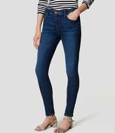 LOFT Denim Leggings in Dark Authentic Indigo Wash