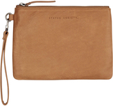 Status Anxiety Fixation Clutch Brown