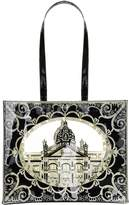 Harrods Frame Cut-Out Tote Bag
