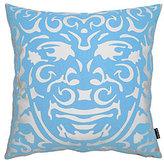 Triton Throw Pillow Blue/White