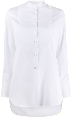 Paul Smith Fitted Mandarin Collar Shirt