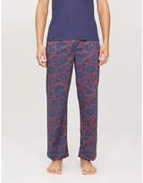 Derek Rose Ledbury cotton pyjama bottoms