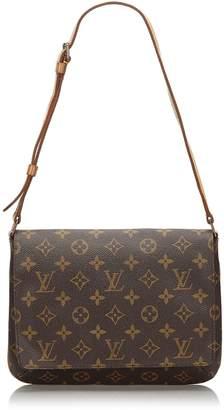 Louis Vuitton Brown Monogram Musette Tango Short Strap