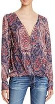 Love Sam Long Sleeve V-Neck Top