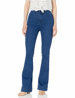 The Fifth Label Women's Highway Highwaisted Flared Stretch Denim Jeans