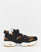 Reebok Instapump Shere Khan Jungle Book Animal Print Sneakers