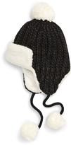 BP Knit Pompom Trapper Hat