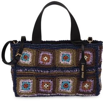 Miu Miu Crocheted Tote Bag