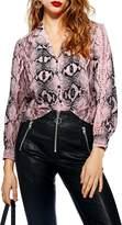 Topshop Jessica Print Shirt