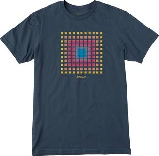 RVCA Young Mens Mosaic Tee Shirt