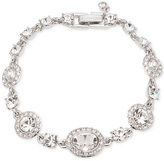 Givenchy Faceted Stone and Crystal Pavé Link Bracelet