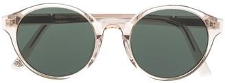 Vuarnet District 2001 round-frame sunglasses