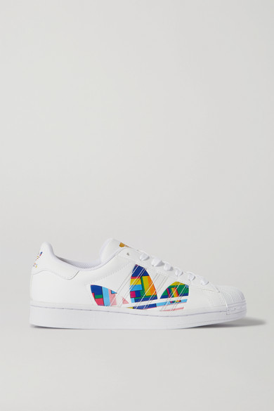 adidas Superstar Pride Leather Sneakers - White