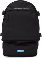 Undercover Black Canvas Backpack