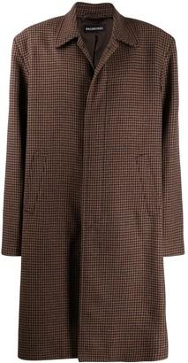 Balenciaga Square Shoulder Carcoat