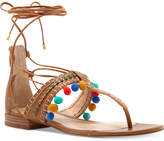 Vince Camuto Balisa Pom Pom Lace-Up Sandals