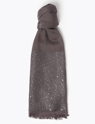 Marks and Spencer Sequin Scarf