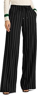 Ralph Lauren Ralph Pinstriped Wide-Leg Pants